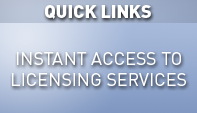 Instant Access to Licensing Services