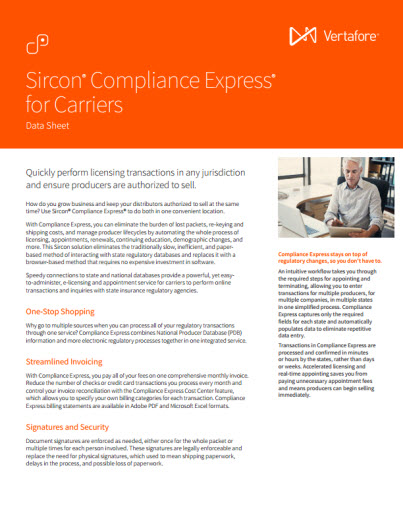 Compliance Express Data Sheet