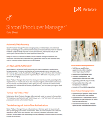 Producer Manager Data Sheet